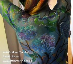 Becca Body Painting