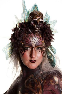 Model: Tracey Rowland Artist: Mona Turnbull