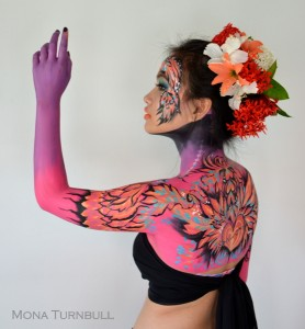body art by Mona Turnbull