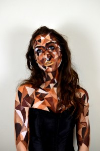 Fine Art Body Painting by Mona Turnbull Model: Liesl Despy