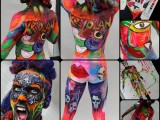laurence caird, body painting, body art,