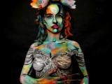body art, body painting, mua, make up artist, body painting, model, male model, creative art, painting, art, fine art, pop art, body art, lord of the ring, galadriel, elf queen