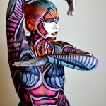 body art, body painting, mona, mona turnbull mua, make up artist, body painting, model, male model, creative art, painting, art, fine art, robot, cyborg, butterfly, humanoid, robot